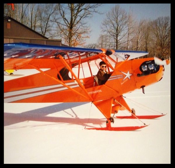 Piper J-3 Snow Skies for sale