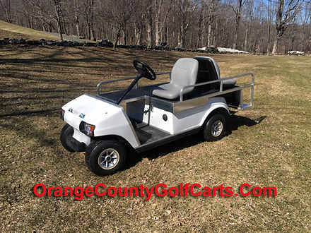 golf cart ambulance EMT