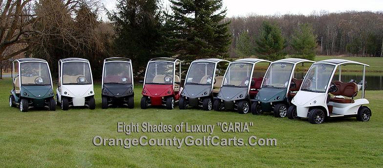luxury golf car Diane