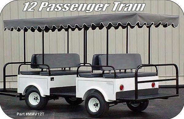 12 Passenger Tram