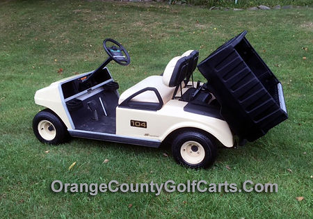 Golf Cart with Box