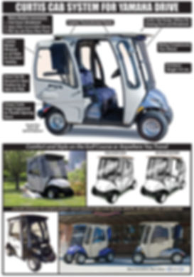 Curtis golf cart cab