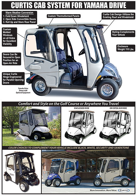 Golf Cart Cabs Enclosures
