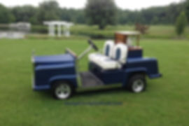 Rolls Royce Golf Cart Diane