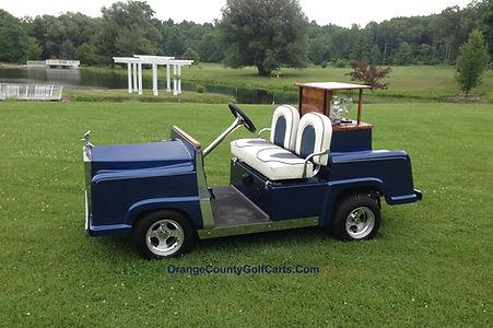 Rolls Royce Golf Cart Diane