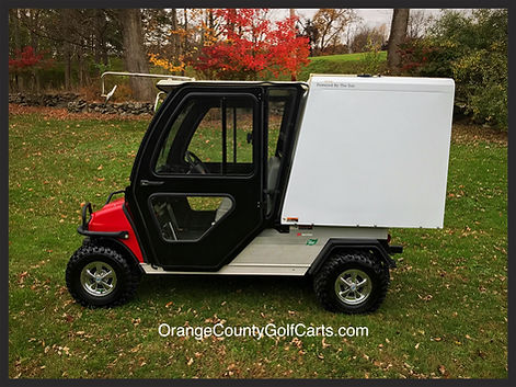 Food Golf Cart truck