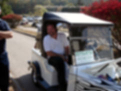 jonny rosch Luxury custom golf carts Diane