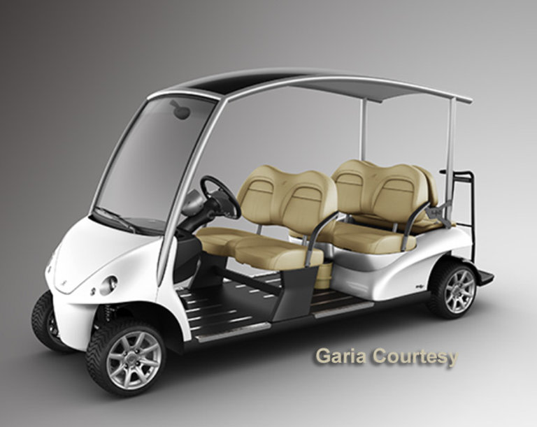 Garia Luxury Golf Gart