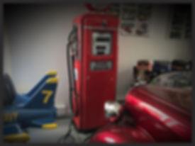 Esso Aviation gas pump
