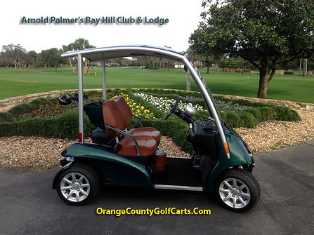 garia luxury golf cart