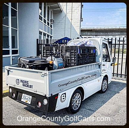 Club Car 411 LSV Pick up Electric