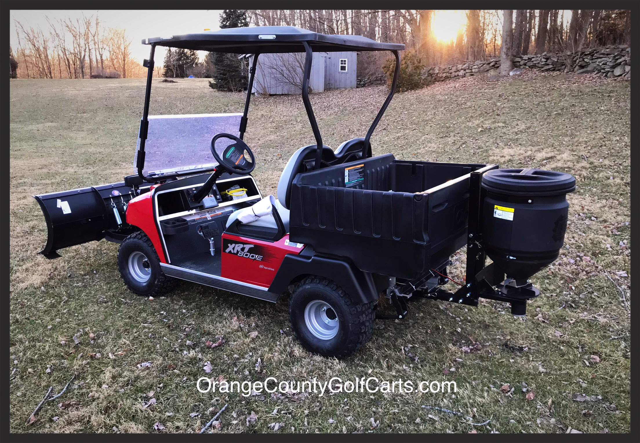 Golf Cart Salt Sander