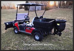 Golf Cart Salt Sander