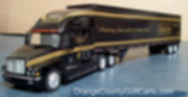 Freightliner Century Club Car Die Cast Tractor Trailer