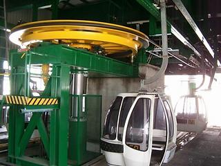ski lift fibercar