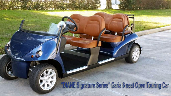 Garia Six Seat Roadster by Diane