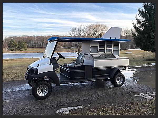 Golf Cart beverage Cafe