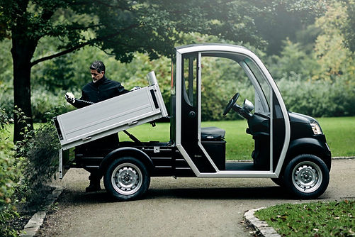 Garia's New Light LSV Truck