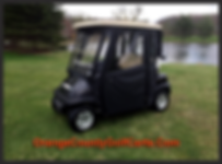 Soft cab Security Golf Cart