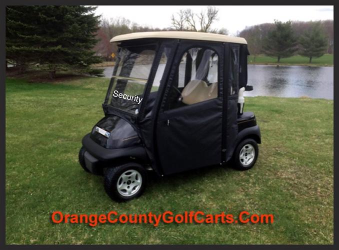 Soft cab Security Golf Cart
