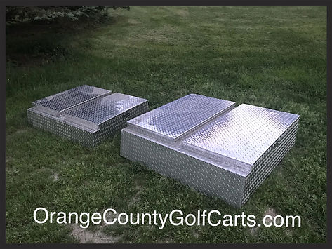 golf cart tool box carryall