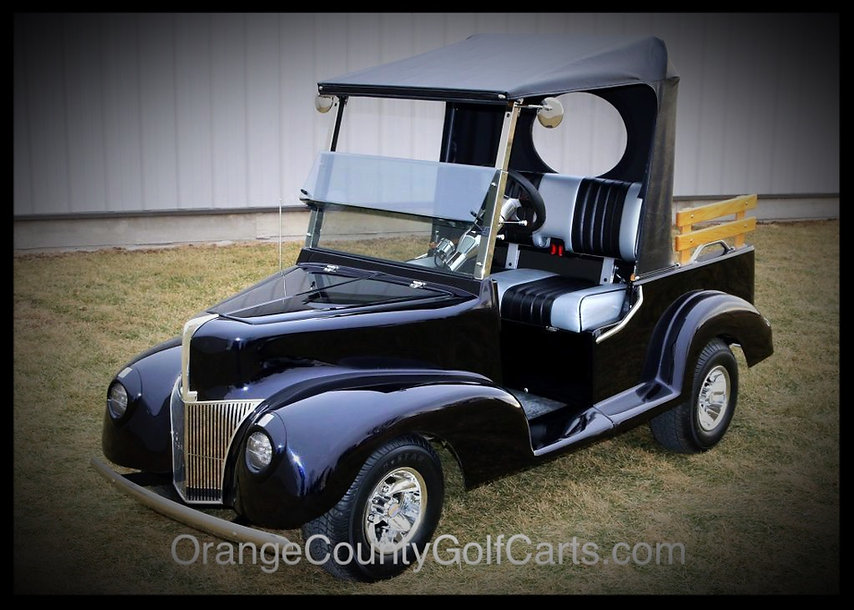 1940 ford custom luxury golf carts Diane
