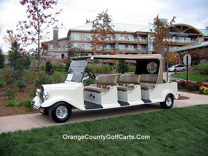Luxury custom golf carts Diane