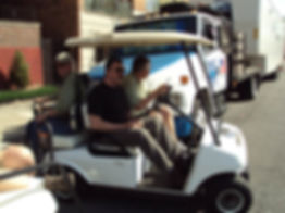 Tom Selleck Luxury custom golf carts Diane