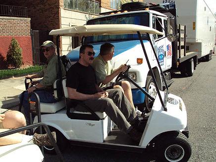 Tom Selleck Luxury custom golf carts Diane