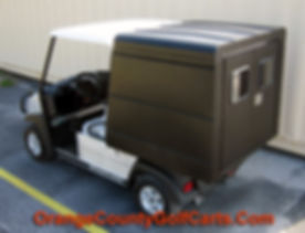 Golf Cart Van Box