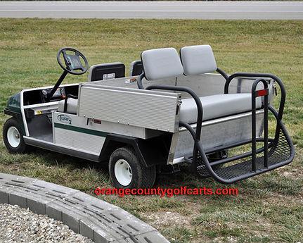 golf cart rear seat carryall