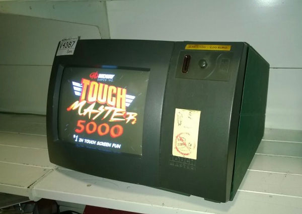 Touchmaster 5000 Video Game Coin or Free Play