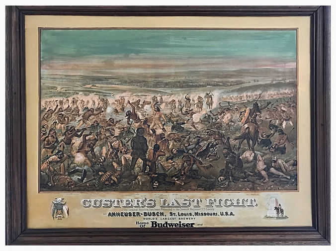 Custer's Last Stand Chromolithograph