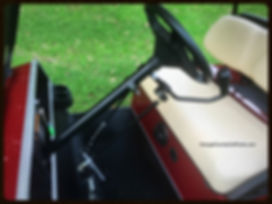 Golf cart hand controls