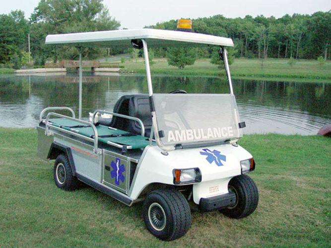 Carryall EMT Golf Cart