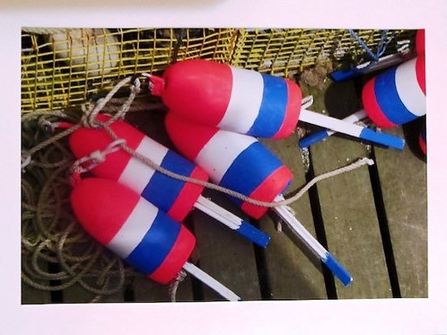 sa6 Red, White & Blue Buoys
