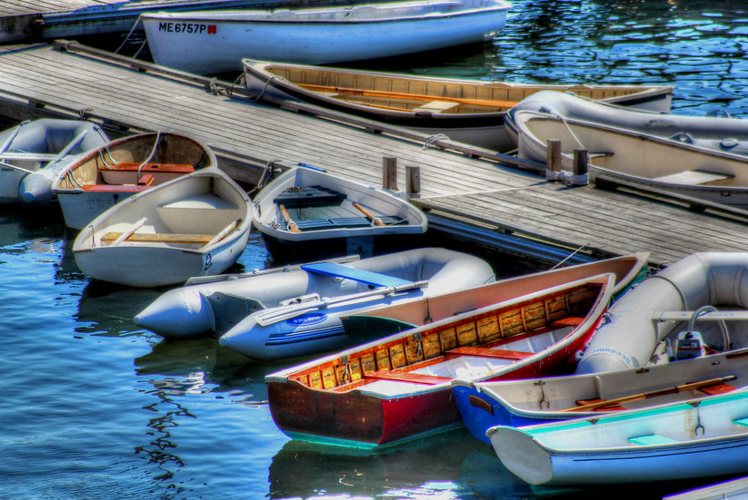 Dinghy's at Rest (di6)