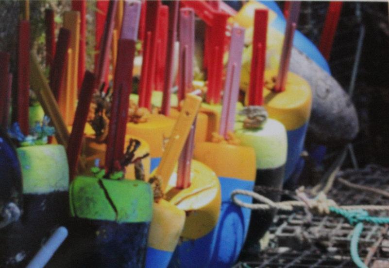 Fisherman Buoys and trap (bu4)