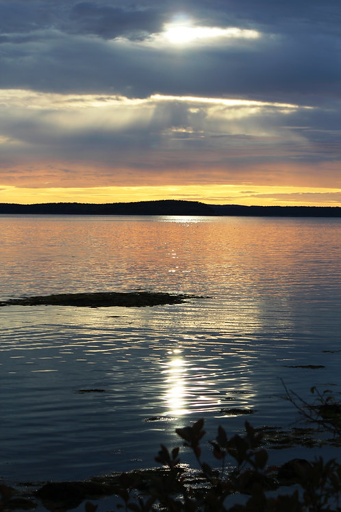 Bar Harbor Bay Sunset (bh4)