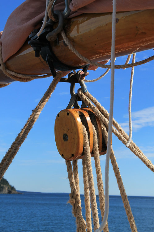 Margaret Todd Sail Pulley (bh12)
