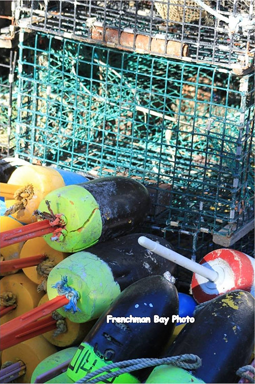 Fisherman Buoys and trap (bu6)