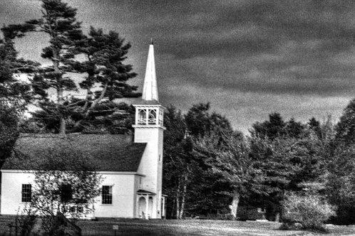 Winter Photo of Church  (win4)