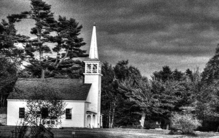 Winter Photo of Church  (bb7)