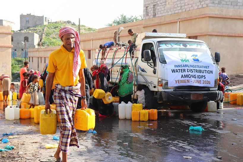 Yemen. Water distribution Image 2020-06-