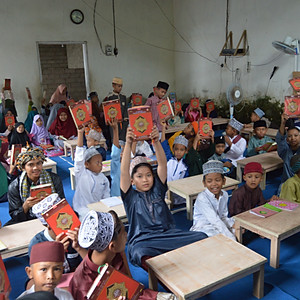 Education support for madrasah