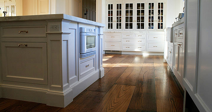 Wide Plank Wood Flooring For Kitchens