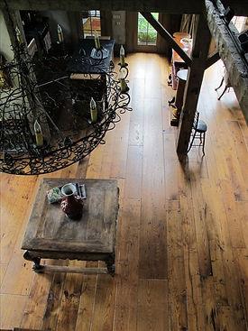 Chestnut Woodworking-Antique Wide Plank Floor