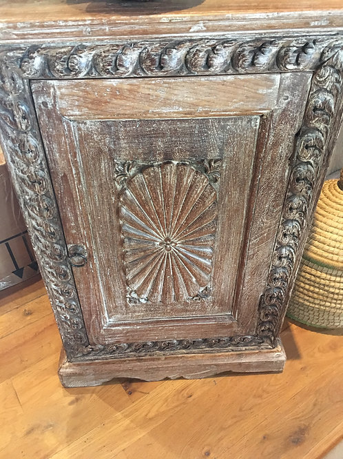 Hutch from India (possibly Mango Wood)