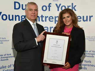 Sunderland graduate receives Duke of York's Young Entrepreneur of the Year