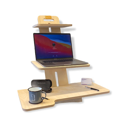 Well WorkStation - Standing Desk Converter for Monitor & Keyboard users